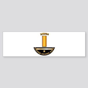 Navy - Officer - Ensign Sticker (Bumper)