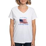 9/11 Tribute - Always Remember Women's V-Neck T-Sh