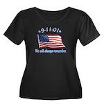 9/11 Tribute - Always Remember Women's Plus Size S