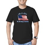 9/11 Tribute - Always Remember Men's Fitted T-Shir