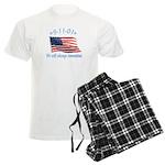9/11 Tribute - Always Remember Men's Light Pajamas