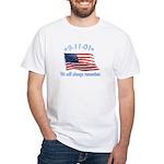 9/11 Tribute - Always Remember White T-Shirt