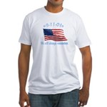 9/11 Tribute - Always Remember Fitted T-Shirt