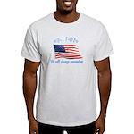 9/11 Tribute - Always Remember Light T-Shirt