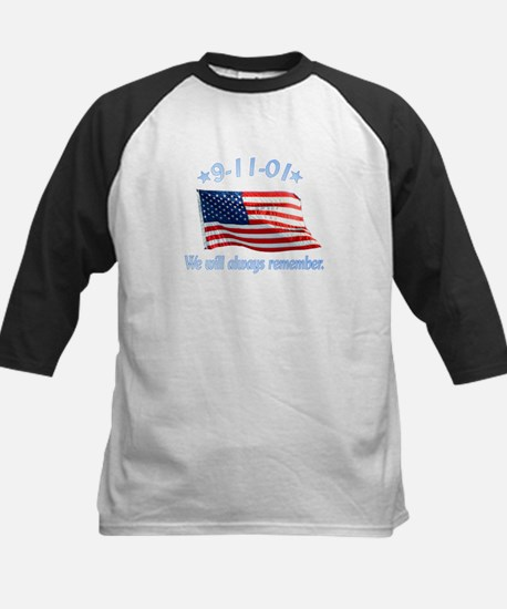 9/11 Tribute - Always Remember Kids Baseball Jerse