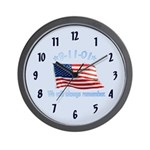 9/11 Tribute - Always Remember Wall Clock