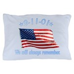 9/11 Tribute - Always Remember Pillow Case