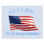 9/11 Tribute - Always Remember Small Poster