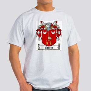 Quinn Coat of Arms Ash Grey T-Shirt