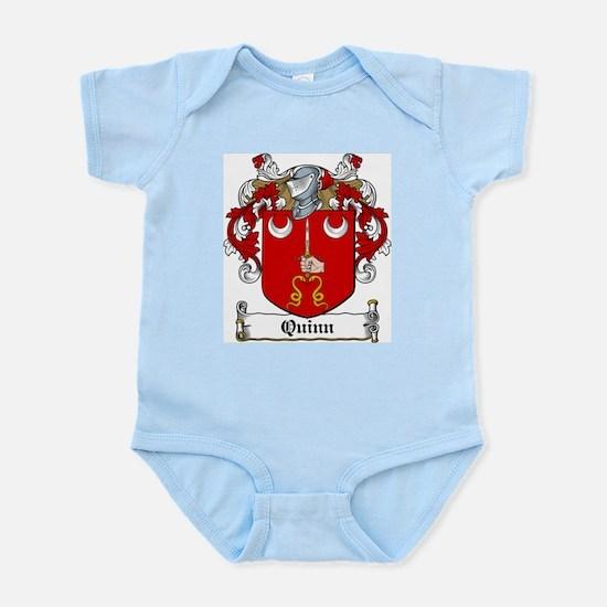 Quinn Coat of Arms Infant Creeper