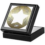 Distressed Vintage Star 3 Keepsake Box