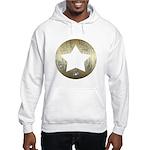Distressed Vintage Star 3 Hooded Sweatshirt