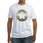 Distressed Vintage Star 3 Fitted T-Shirt