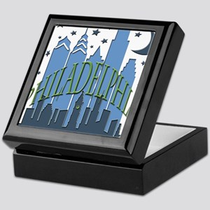 Philly Skyline cool Keepsake Box