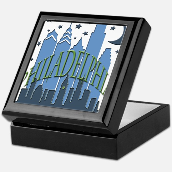 Philly Skyline cool Keepsake Box