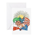 UnitedWeStaGreeting Cards (Pk of 10)