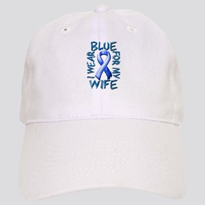 I Wear Blue for my Wife Cap