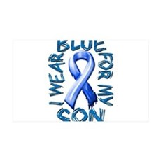 I Wear Blue for my Son.png Wall Decal