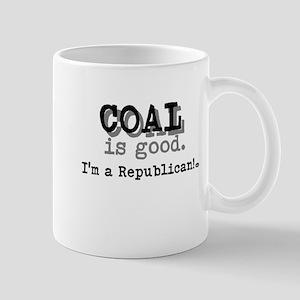 Coal is good. Mug