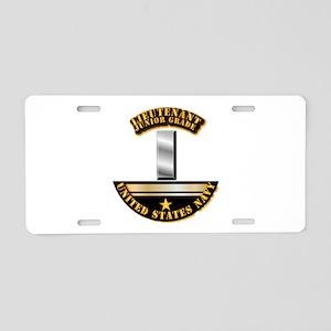 Navy - Officer - LT JG Aluminum License Plate