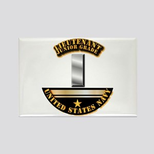 Navy - Officer - LT JG Rectangle Magnet