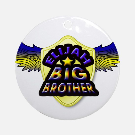 Elijah Big Brother Ornament (Round)