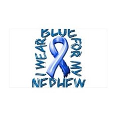 I Wear Blue for my Nephew.png Wall Decal