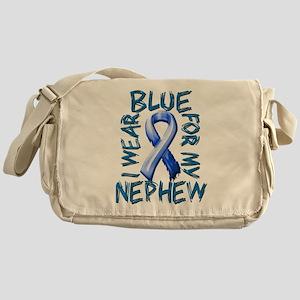 I Wear Blue for my Nephew Messenger Bag