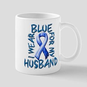 I Wear Blue for my Husband Mug