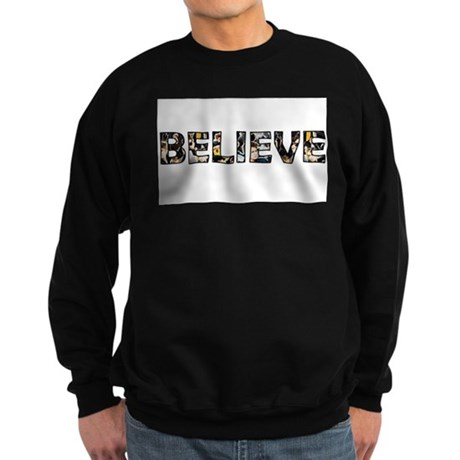 Believe Sweatshirt (dark)