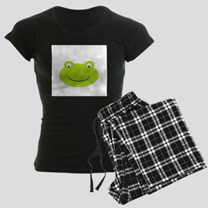 Frog Face Women's Dark Pajamas