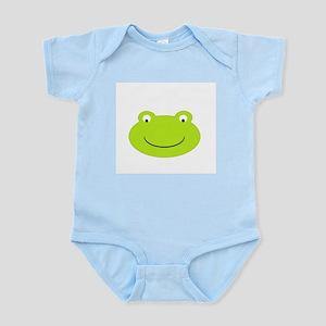 Frog Face Infant Bodysuit