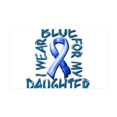 I Wear Blue for my Daughter.png Wall Decal