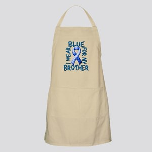 I Wear Blue for my Brother Apron