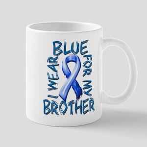 I Wear Blue for my Brother Mug