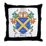 Furey Coat of Arms Throw Pillow