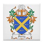 Furey Coat of Arms Tile Coaster