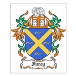 Furey Coat of Arms Small Poster