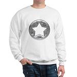 Distressed Vintage Silver Star Sweatshirt