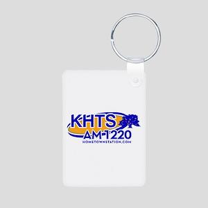 KHTS Logo Aluminum Photo Keychain