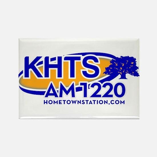 KHTS Logo Rectangle Magnet