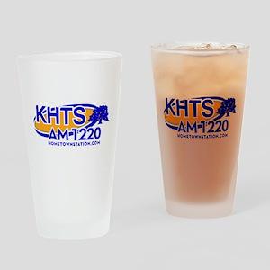 KHTS Logo Drinking Glass