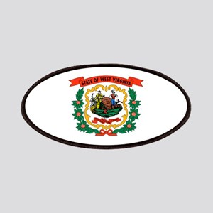 West Virginia State Flag Patches