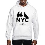 wi Run NY Pigeons Hooded Sweatshirt