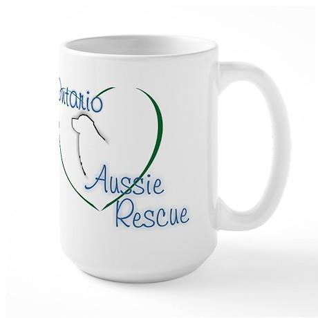 Ontario Aussie Rescue Large Mug