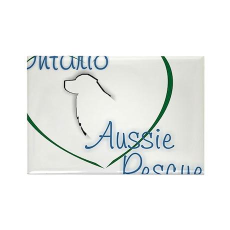 Ontario Aussie Rescue Rectangle Magnet