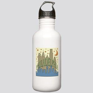 Philly Skyline beachy Stainless Water Bottle 1.0L