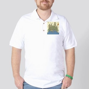 Philly Skyline beachy Golf Shirt