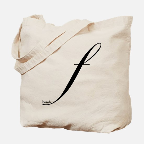 F Bomb Tote Bag