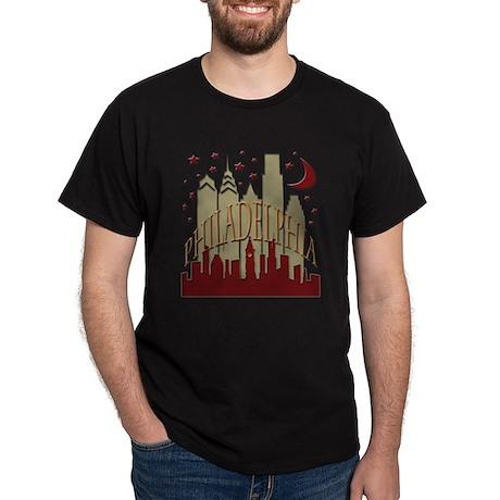 Philly skyline hot Dark T-Shirt